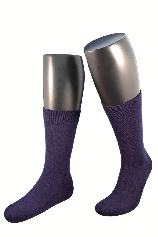 Мужские однотонные махровые носки