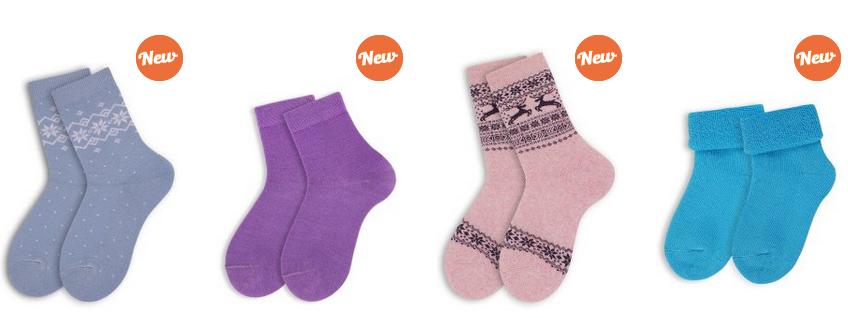 детские утепленные носки